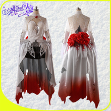 Anime Hot Game SINoALICE Snow White Dress Cosplay Costumes Full Sets Dress+Cape A
