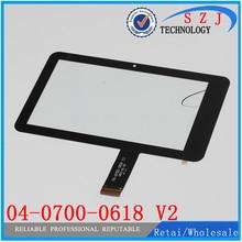 7 ''дюймовый сенсорный экран для freelander PD10 3g телефон планшет двойная емкость Сенсорная панель 04-0700-0618 V2