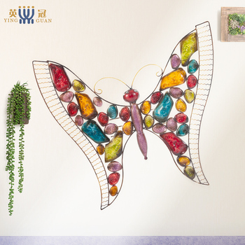 2019 Wrought Iron Wall Hangings Wall Hangings Living Room Wall Decorations Three-dimensional Creative Pendant Hanging Furnishing