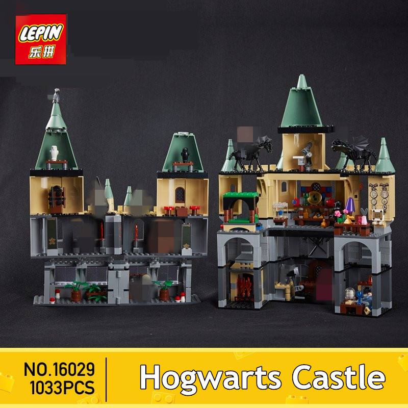 IN STOCK Lepin 16029 1033Pcs Movie Series The magic hogwort castle set Children Educational Building Blocks Bricks Toys Model каталог miskin