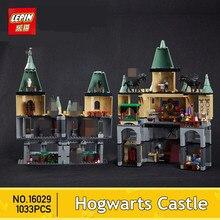 IN STOCK Lepin 16029 1033Pcs Movie Series The magic hogwort castle set Children Educational Building Blocks