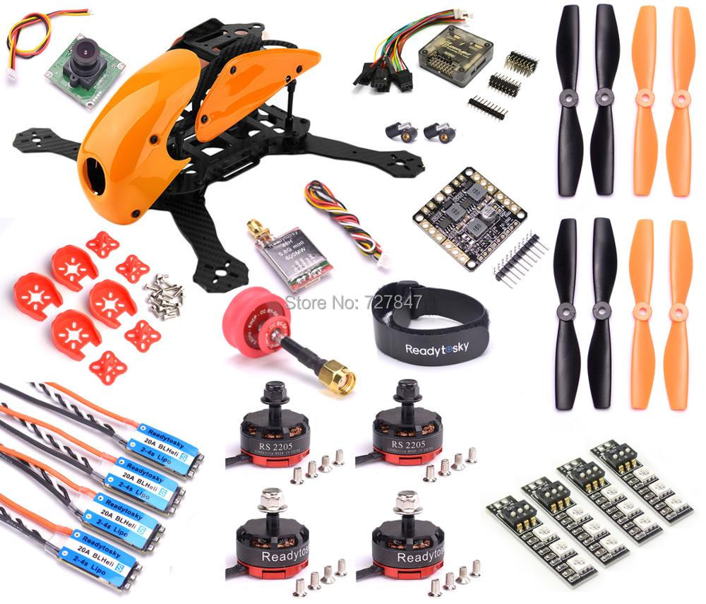 Carbon Fiber Robocat 270mm Quadcopter F3 Deluxe flight controller RS2205 2300KV Motor Mini BLHeli-S 20A 2-4S ESC TS5828L rc plane 210 mm carbon fiber mini quadcopter frame f3 flight controller 2206 1900kv motor 4050 prop rc
