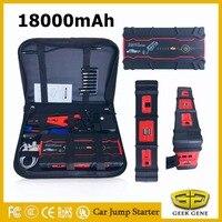 Super Capacity 18000mAh 12V Diesel Petrol Car Jump Starter Power Bank 800A Starting Device Car Battery