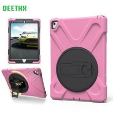 DEETHX,Tablet Case For Apple iPad pro 9.7 A1673 A1674 A1675,Duty Shockproof Hybrid Rubber Rugged Hard Protective Skin Cover Case