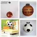 Современный простой баскетбольный футбольный подвесной светильник  креативный светильник для детской комнаты  светильник для спальни для ...