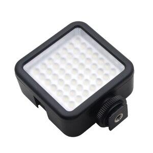 Image 4 - Mini DC 3V 5,5 W 49 LED cámara de vídeo Panel de luz lámpara 6000K para Canon Nikon DSLR Cámara videocámara DVR DV fotografía