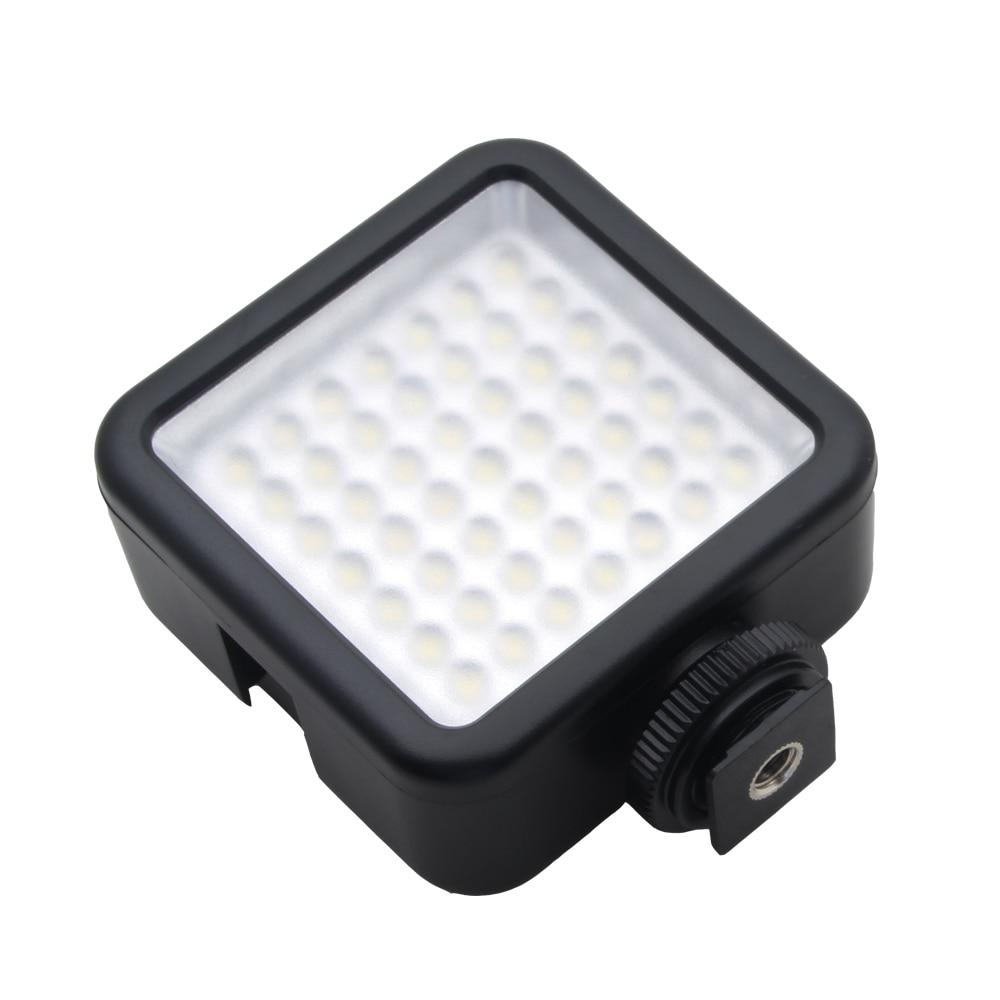 W49 Professional 6000K LED Video Light Fill Light for Canon Nikon Camera Camera