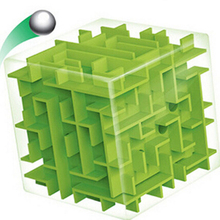 3D Мини Скорость Куб Лабиринт Магический Куб Головоломка Игры Cubos Magicos Обучающие Игрушки Лабиринт Катящийся Шар Игрушки Для Chilren взрослый