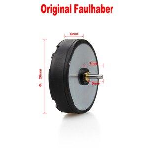 Image 2 - Yedek orijinal Faulhaber Motor Rotary dövme makinesi Motor Liner ve Shader değiştirin dövme motor için dövme döner tabanca