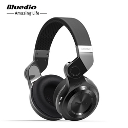 Original Bluedio Earphones T2S Bluetooth 5.0 Headphones With Microphone Wireless bluetooth Headset For Xiaomi Huawei IOS Android