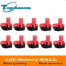 10PCS Brand New 12V Ni CD 2000mAh Replacement Power Tool Battery for Bosch BAT043 2 607