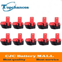 10PCS Brand New 12V Ni-CD 2000mAh Replacement Power Tool Battery for Bosch BAT043 2 607 335 692 Bosch 22612 Bosch 23612