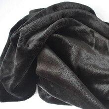 Мягкие черные тканевые костюмы из искусственного меха, одеяла для косплея, размер 150*92 см