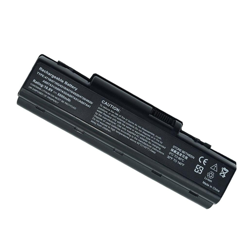 JIGU batterie d'ordinateur portable 4736Z 4710 4710G 4710Z 4740G 4920 4715Z 4720 4730 4736G 4730Z 4736 Pour Acer Aspire 4930G 4920G 4930 4935