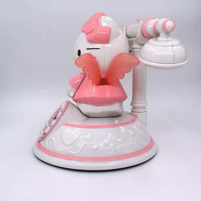 fda3fdfde Classic Phone Hello Kitty Phone Cute Cartoon Workmanship Telephone Retro  Fashion Princess Phone Pink-in Telephones from Computer & Office on  Aliexpress.com ...