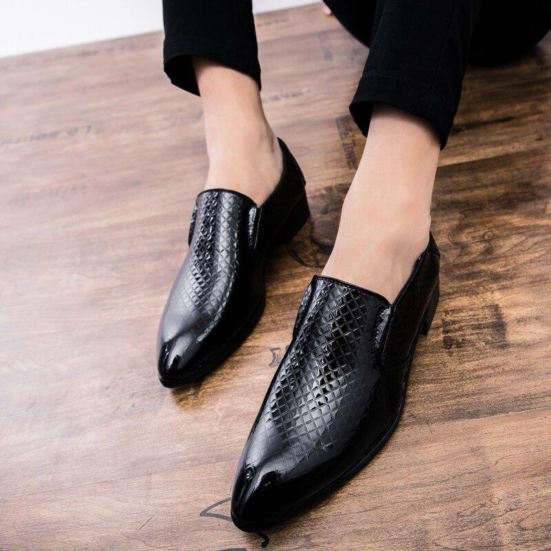 15e542c97e Casuais Calçados Black Preto Shoes Nova golden Couro Ouro Cnfiia Designer Homens  Masculina on 2019 De ...