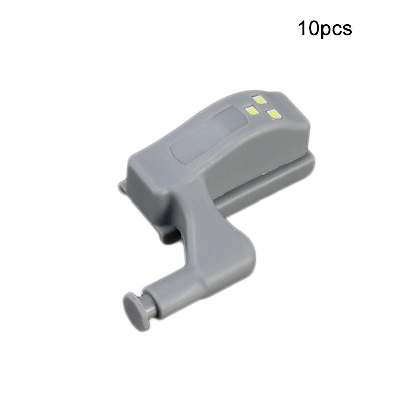 10pcs Wardrobe Sensor Led Armario Inner Hinge Lamp LED Under Cabinet Light Universal Wardrobe LightFor Cupboard Closet Kitchen