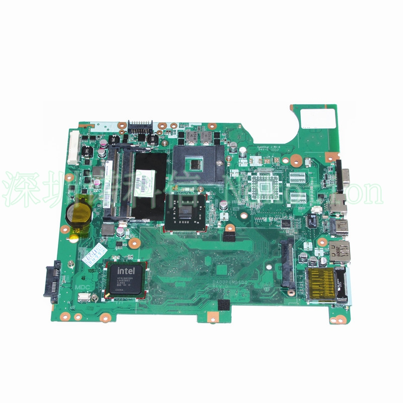 ФОТО DA00P6MB6D0 578701-001 for HP compaq presario CQ71 G71 Intel Laptop Motherboard GM45 Intel HD graphics DDR2