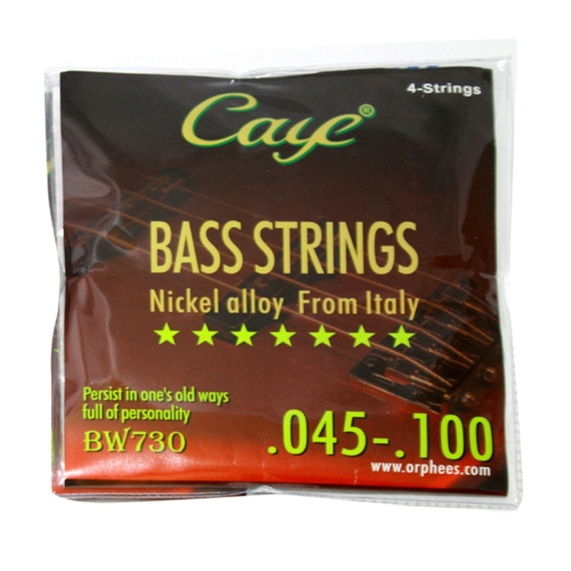 High Quality Electric Bass Guitar Strings Hexagonal Steel Core Musical Instrument Accessories