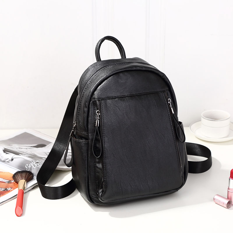 Free shipping! Japan and South Korea suture Genuine Leather laptop backpack women Fashion College New tide SchoolbagFree shipping! Japan and South Korea suture Genuine Leather laptop backpack women Fashion College New tide Schoolbag