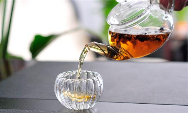 Glass Tea Kettles Pot Kung fu Tea Set