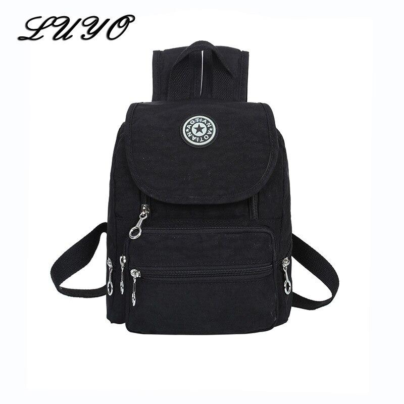 2017 Fashion Small High Quality Oxford Women Travel Mini Rucksack Backpack For Girls Mochila Feminina Kanken Back Bag Kipled