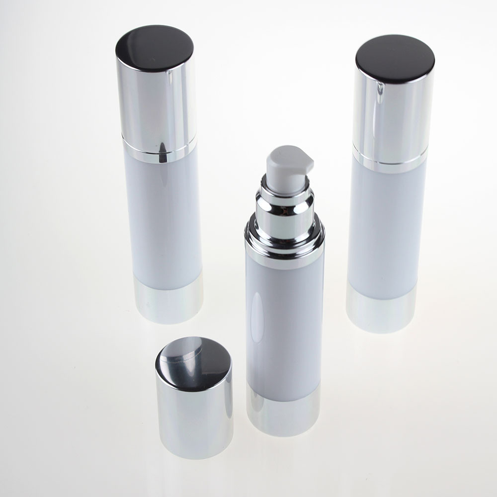 100pcs Airless Pump Dispenser 50ml Round Airless Pump