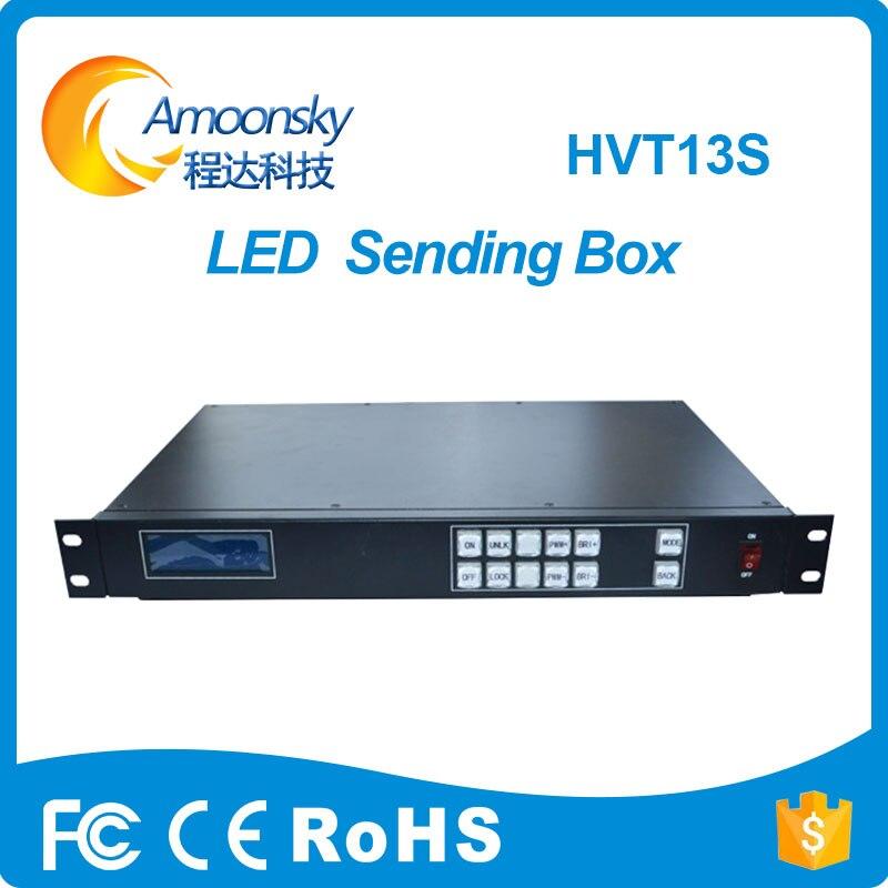 Offre spéciale mur vidéo LED couleur utilisation dbstar hvt13s support réglage de la luminosité 4 réseau prot boîte d'envoi