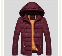 Plus Size 8xl Winter Warm Hooded Men Down Jackets Casual X-long Duck Men cotton-pa& Jackets Thicken Outwear Casual Solid Parkas