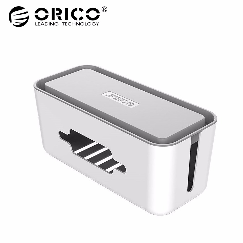ORICO CMB18 ABS electrical socket Storage Box power Cable Manager case арматура крепежная apc horizontal cable manager