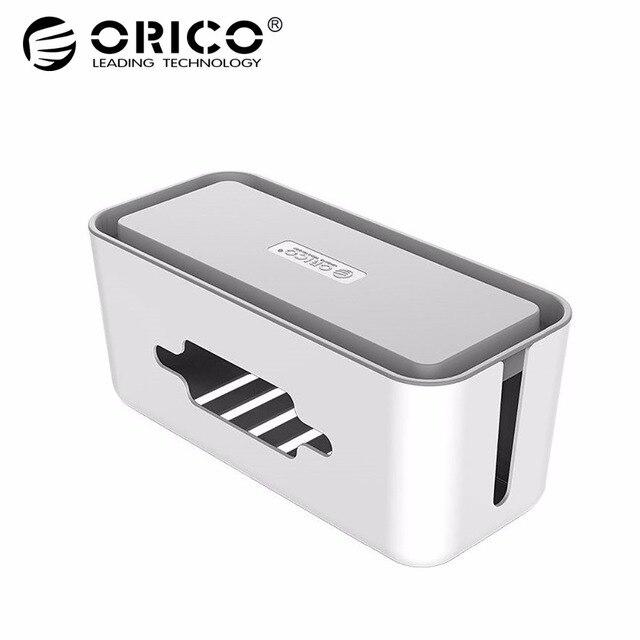 ORICO CMB18 ABS электрическая розетка коробка для хранения силовой кабель менеджер чехол