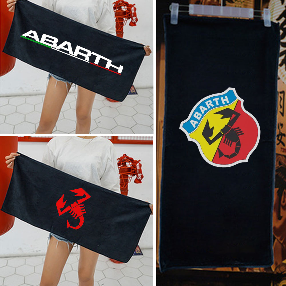 For Fiat Abarth 500 Super Absorbent Car Wash Microfiber Towel Car Cleaning Drying Cloth Extra Large Size 100*35 Cm Drying Towel