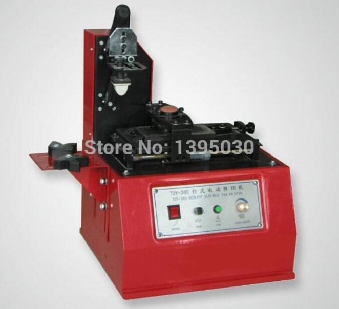 Machine de marquage de Date d'imprimante de bouteille de 110 V/220 V Machine de codage d'encre Machine de presse de Date en TDY-380C de couleur rouge