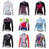 Weimostar Herbst Radfahren Jersey Langarm Frauen Berg Fahrrad Radfahren Kleidung Frühling mtb Rennrad Jersey Jacke Kleidung