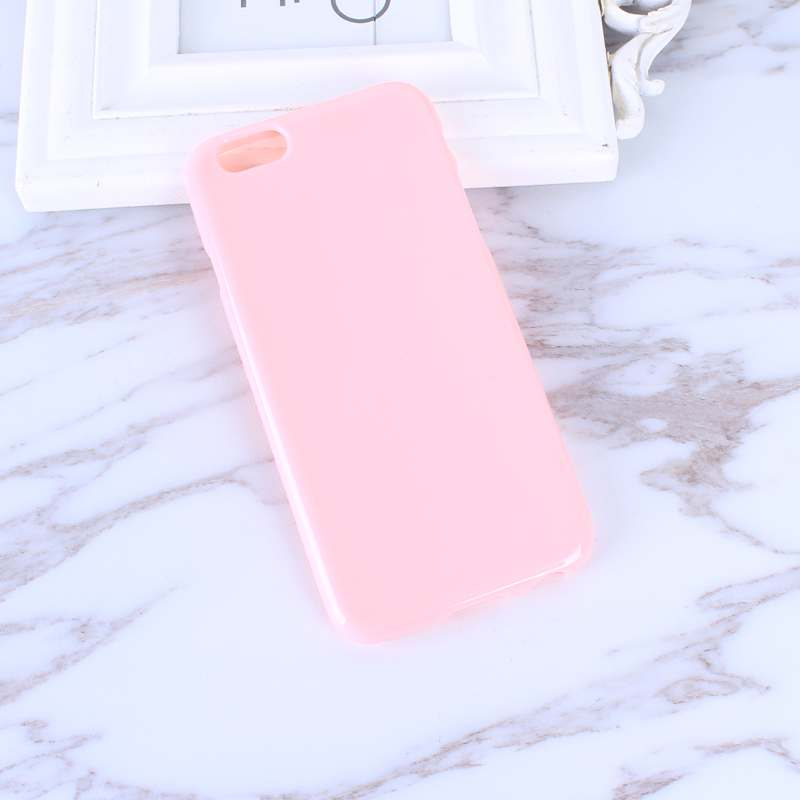 HTB1VapQo0bJ8KJjy1zjq6yqapXa2 - FREE SHIPING Candy Color TPU Rubber Silicone Soft Gloss Phone Cases Back Cover For iPhone 6 6s 7 8 Plus 5 5s SE X JKP387