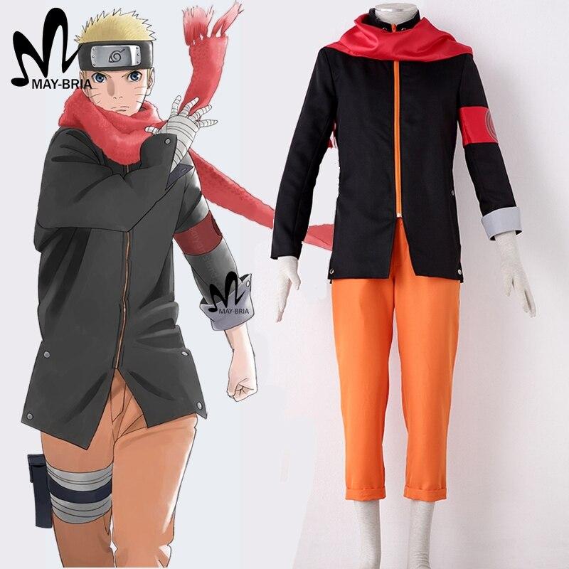 hot anime movie the last Naruto Cosplay Costume Naruto Uzumaki cosplay costume Naruto cosplay Uzumaki costume Halloween costumes