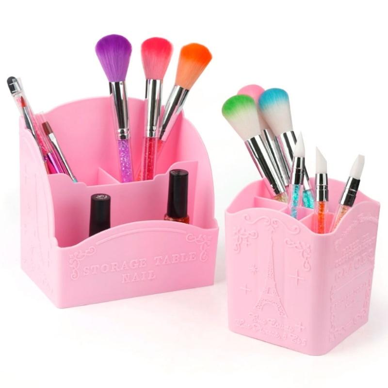 Practical Rooms Cabinet Makeup Storage Box Pen Holder Case Container Caixa Organizadora Jewelry Organizer Makeup Organizer