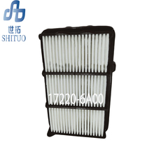 High filtration performance 17220-6A00 Air filter for 18 Accord car air filters стоимость
