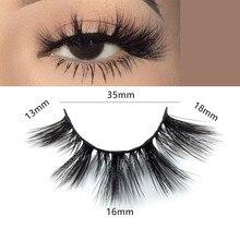 лучшая цена New 16mm Eyelashes 3D Mink Lashes natural handmade lashes long soft false eyelashes High Volume Cruelty Free Mink lashes