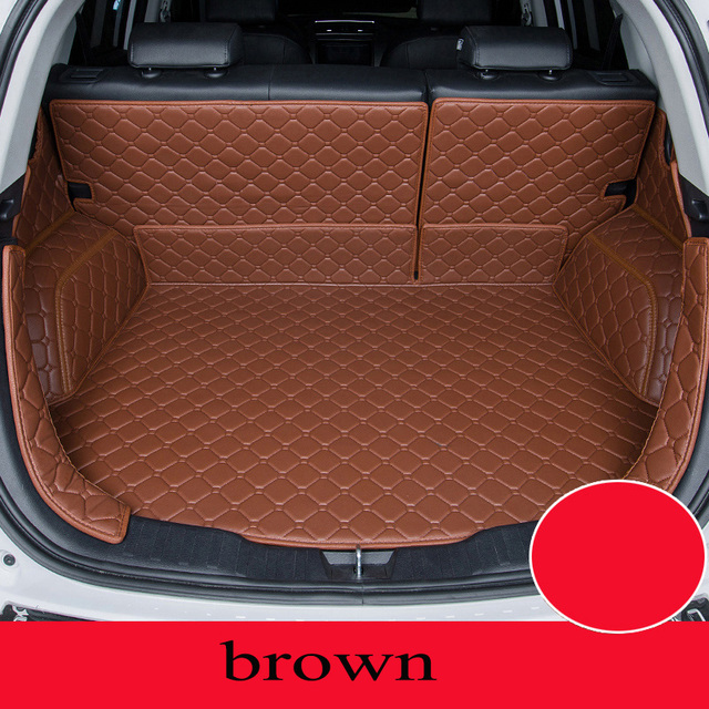 Custom car mat trunk for Mazda All Models Mazda 3 6 cx-5 cx-7 car styling car accessories custom cargo liner
