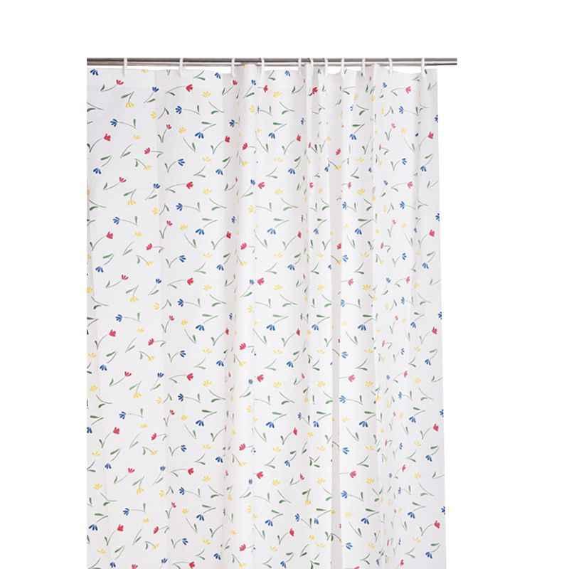 ใหม่ห้องน้ำกันน้ำผ้าม่านอาบน้ำพร้อม 12 pcs Curtain Hooks แหวน 180 ซม. * 200 ซม.