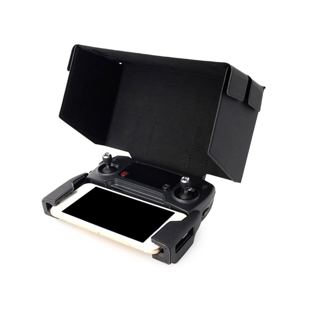 Controle Remoto Tela Do Telefone Monitor Sombrinha Capa Sol Capa 5.5 Polegada para Mavic Pro Platinum Spark RC Zangão DJI Acessórios