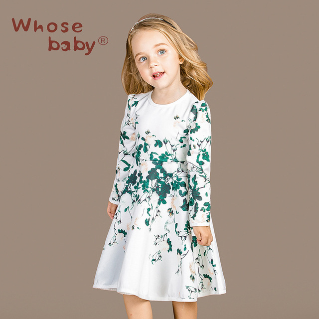 Children Baby Girl Clothes Flower Fairy Costume Long Sleeve Dress Winter Spring and Autumn Female Celestial Princess Dress