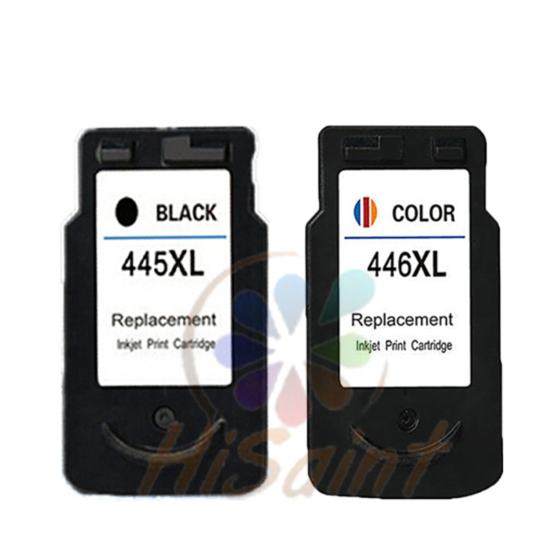 Hot sale 2pcs printer ink cartridge for canon 445 446 for Ink sale