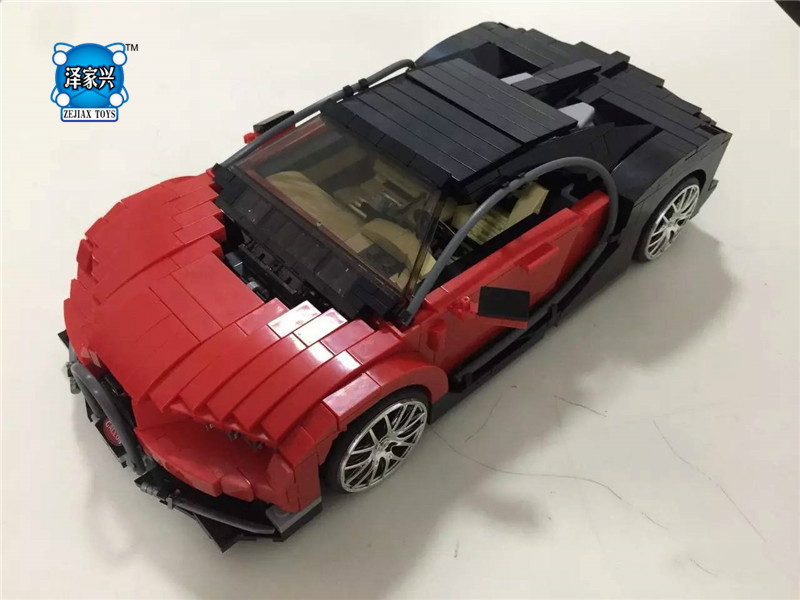 859Pcs The Gallon Supercar Set Block Creative MOC Technic Series XingBao Educational Building Blocks Bricks Toys Model xingbao 01001 creative chinese style the chinese silk and satin store 2787pcs set educational building blocks bricks toys model