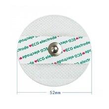 ECG machine accessories ECG electrode sheet adult electrode sheet non woven electrode electrocardiography lead patch