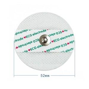 Image 1 - Maszyna EKG akcesoria elektroda ekg czy doliczone zostaną dodatkowe opłaty dla dorosłych arkusz elektrod włókniny elektrody ekg realizacji patch