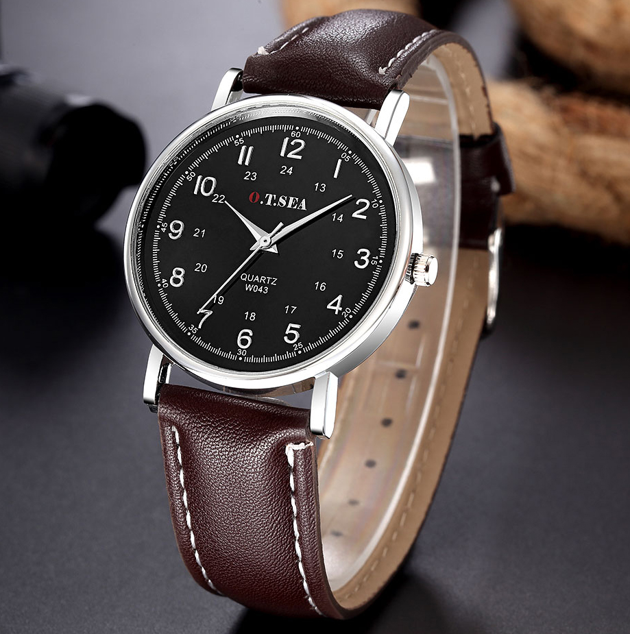 Top Luxury Fashion Brand Quartz Watch Men Women Casual Leather Dress Business Bracelet Wrist Watch Wristwatch 1201612222 venis park white 33 3x100