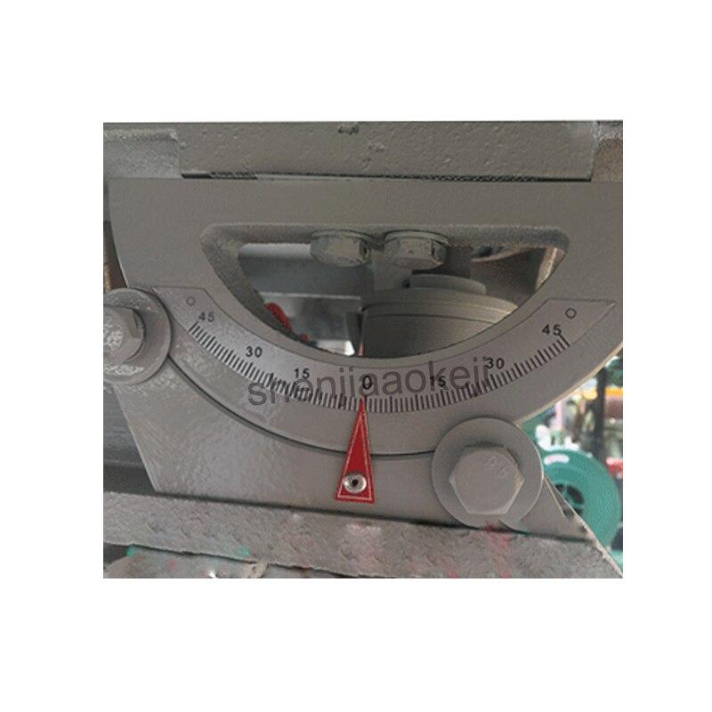 380 v/220 v verticale haute vitesse bois routeur broche shaper machine bureau fraiseuses machine de découpage matériel de travail du bois - 6