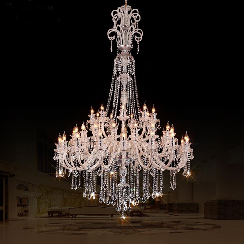 las grandes araas cristal para hoteles lmpara moderna de techo alto del club villa nivel araa